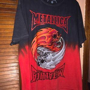 Metallica shirt!
